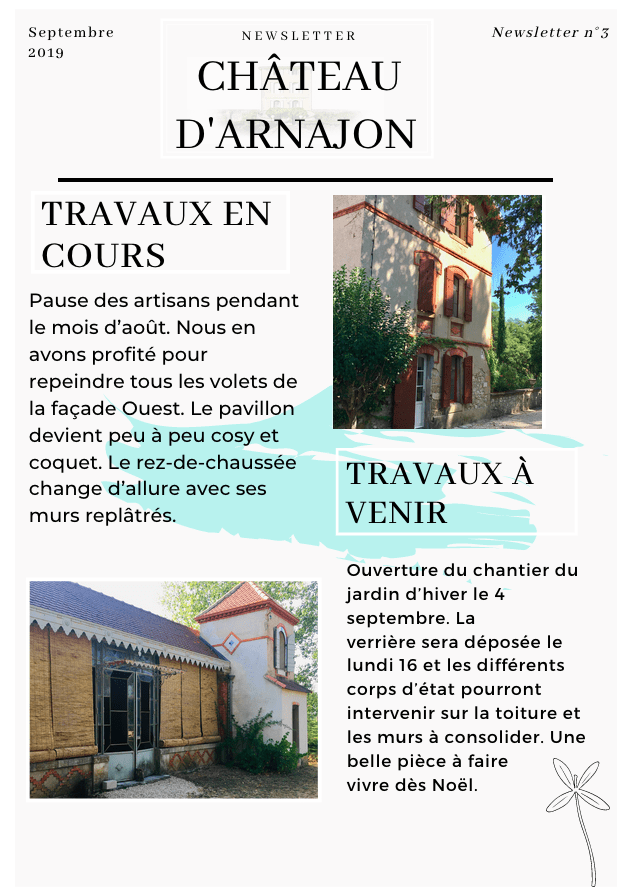 NEws sept chateau arnajon